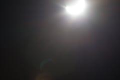 Μερική έκλειψη Solare πέρα από το Ντάλλας Τέξας Στοκ Φωτογραφία