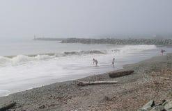 Η παραλία σε Brookings, Η Στοκ Φωτογραφίες