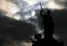 μερικός ηλιακός έκλειψη&sigm Στοκ Φωτογραφίες
