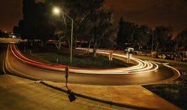 Μεσάνυχτα Λος Άντζελες στοκ φωτογραφίες με δικαίωμα ελεύθερης χρήσης