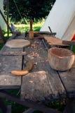 Μεσαιωνικά εργαλεία Στοκ εικόνα με δικαίωμα ελεύθερης χρήσης