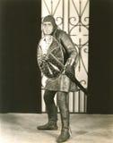 Μεσαιωνικά μέτρα ασφάλειας Στοκ φωτογραφία με δικαίωμα ελεύθερης χρήσης