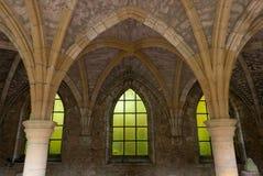 Μεσαιωνικές αψίδες Στοκ Φωτογραφία