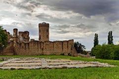 Μεσαιωνικές καταστροφές στοκ εικόνες
