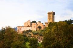 Μεσαιωνική ακρόπολη Vicopisano (Ιταλία-Τοσκάνη-Πίζα) στοκ εικόνες