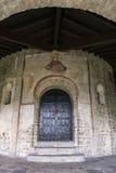 Μεσαιωνική βασιλική στοκ εικόνες