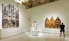 Μεσαιωνική γοτθική αίθουσα τέχνης ύφους Στοκ Εικόνες