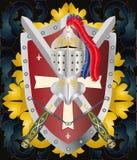 μεσαιωνική διακόσμηση Στοκ Φωτογραφία