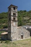 Μεσαιωνική εκκλησία σε Antrodoco Rieti, Ιταλία Στοκ εικόνα με δικαίωμα ελεύθερης χρήσης