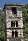 Μεσαιωνική εκκλησία σε Antrodoco Rieti, Ιταλία Στοκ Εικόνες