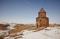 Μεσαιωνική εκκλησία σε Ani, Kars, Τουρκία Στοκ εικόνα με δικαίωμα ελεύθερης χρήσης