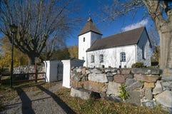 Μεσαιωνική εκκλησία Σουηδία Adelso Στοκ φωτογραφία με δικαίωμα ελεύθερης χρήσης