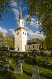 Μεσαιωνική εκκλησία Σουηδία Ekero Στοκ Εικόνες