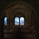 μεσαιωνική θέση Στοκ φωτογραφία με δικαίωμα ελεύθερης χρήσης