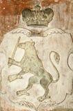 Μεσαιωνική κάλυψη της Λετονίας ` s των όπλων Στοκ φωτογραφία με δικαίωμα ελεύθερης χρήσης