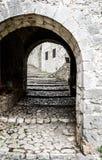 Μεσαιωνική οδός σε Pocitelj Στοκ εικόνες με δικαίωμα ελεύθερης χρήσης