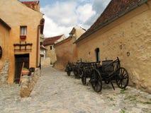 μεσαιωνική οδός στοκ εικόνα