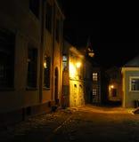 μεσαιωνική οδός Στοκ Εικόνες