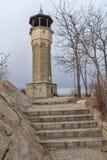 Μεσαιωνική οικοδόμηση του πύργου ρολογιών στην πόλη Plovdiv, Βουλγαρία Στοκ εικόνες με δικαίωμα ελεύθερης χρήσης