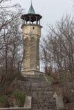 Μεσαιωνική οικοδόμηση του πύργου ρολογιών στην πόλη Plovdiv, Βουλγαρία Στοκ φωτογραφία με δικαίωμα ελεύθερης χρήσης