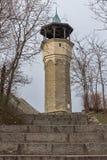 Μεσαιωνική οικοδόμηση του πύργου ρολογιών στην πόλη Plovdiv, Βουλγαρία Στοκ φωτογραφίες με δικαίωμα ελεύθερης χρήσης
