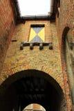 Μεσαιωνική οικοδόμηση Μπρυζ Βέλγιο Στοκ εικόνα με δικαίωμα ελεύθερης χρήσης