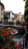 Μεσαιωνική παλαιά πόλη του Annecy, haute-Savoie, Γαλλία Στοκ Φωτογραφία