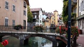 Μεσαιωνική παλαιά πόλη του Annecy, haute-Savoie, Γαλλία Στοκ φωτογραφία με δικαίωμα ελεύθερης χρήσης