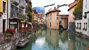 Μεσαιωνική παλαιά πόλη του Annecy, haute-Savoie, Γαλλία Στοκ φωτογραφίες με δικαίωμα ελεύθερης χρήσης