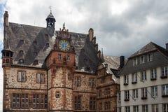 Μεσαιωνική πολιτική αίθουσα Marburg ένα der Lahn Στοκ εικόνα με δικαίωμα ελεύθερης χρήσης