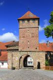 μεσαιωνική πόλη πυλών Στοκ Εικόνα