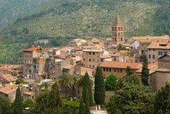 μεσαιωνική πόλη της Ιταλί&alpha στοκ φωτογραφίες με δικαίωμα ελεύθερης χρήσης