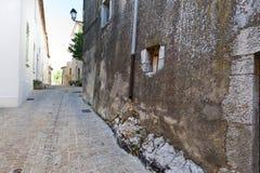 Μεσαιωνική πόλη του Μονς στη Γαλλία Στοκ εικόνες με δικαίωμα ελεύθερης χρήσης