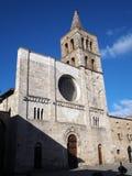 Μεσαιωνική πόλη Bevagna στην κεντρική Ιταλία Στοκ Φωτογραφίες