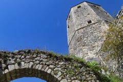 Μεσαιωνική πόλη Pocitelj, της Βοσνίας & της Ερζεγοβίνης Στοκ Εικόνες