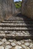 Μεσαιωνική πόλη Pocitelj, της Βοσνίας & της Ερζεγοβίνης Στοκ Εικόνα