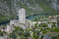 Μεσαιωνική πόλη Pocitelj, της Βοσνίας & της Ερζεγοβίνης Στοκ εικόνα με δικαίωμα ελεύθερης χρήσης