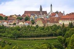Μεσαιωνική πόλη Rothenburg Στοκ φωτογραφίες με δικαίωμα ελεύθερης χρήσης