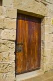 Μεσαιωνική πόρτα - μεσαιωνικό παρεκκλησι Gozo Στοκ εικόνες με δικαίωμα ελεύθερης χρήσης