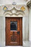 Μεσαιωνική πόρτα σε Λουκέρνη, Ελβετία Στοκ φωτογραφίες με δικαίωμα ελεύθερης χρήσης