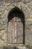 Μεσαιωνική πόρτα - Carcassonne - Γαλλία Στοκ Εικόνες