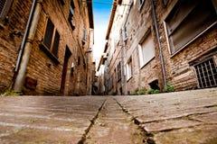 Μεσαιωνική πόλη Ούρμπινο στην Ιταλία Στοκ Φωτογραφίες