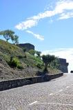 Μεσαιωνική πόλη του Castle Orem, Πορτογαλία Στοκ φωτογραφία με δικαίωμα ελεύθερης χρήσης