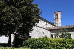 Μεσαιωνική πόλη Gubbio στην Ουμβρία στοκ εικόνες