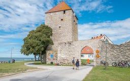 Μεσαιωνική πόλη Visby Hanse στη Gotland στοκ φωτογραφία με δικαίωμα ελεύθερης χρήσης