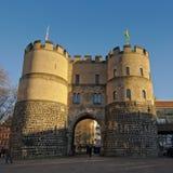 Μεσαιωνική πύλη πόλεων ` Hahnen `, Κολωνία Στοκ Εικόνες