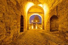 Μεσαιωνική πύλη Στοκ φωτογραφίες με δικαίωμα ελεύθερης χρήσης