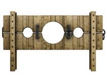 μεσαιωνική τιμωρία κλοιών Στοκ φωτογραφίες με δικαίωμα ελεύθερης χρήσης
