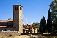 Μεσαιωνική romanesque εκκλησία, Ιταλία Στοκ Εικόνες