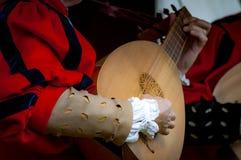 μεσαιωνικοί μουσικοί Στοκ φωτογραφία με δικαίωμα ελεύθερης χρήσης